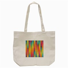 Background Colorful Abstract Tote Bag (cream) by Nexatart