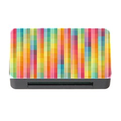 Background Colorful Abstract Memory Card Reader With Cf by Nexatart