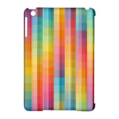 Background Colorful Abstract Apple Ipad Mini Hardshell Case (compatible With Smart Cover) by Nexatart