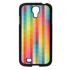 Background Colorful Abstract Samsung Galaxy S4 I9500/ I9505 Case (black) by Nexatart