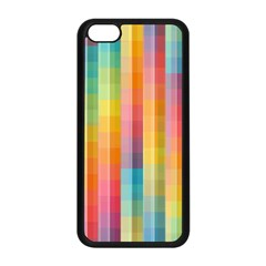 Background Colorful Abstract Apple Iphone 5c Seamless Case (black) by Nexatart