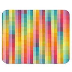 Background Colorful Abstract Double Sided Flano Blanket (medium)  by Nexatart