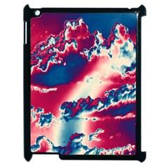 Sky Pattern Apple Ipad 2 Case (black) by Valentinaart