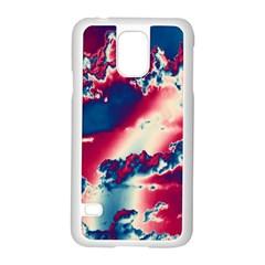 Sky Pattern Samsung Galaxy S5 Case (white) by Valentinaart