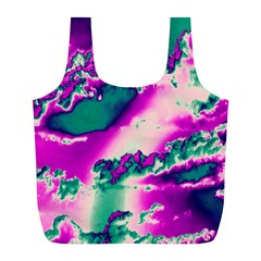 Sky Pattern Full Print Recycle Bags (l)  by Valentinaart