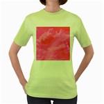 Sky pattern Women s Green T-Shirt