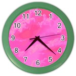Sky pattern Color Wall Clocks
