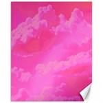 Sky pattern Canvas 11  x 14