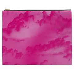 Sky Pattern Cosmetic Bag (xxxl)  by Valentinaart