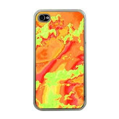 Sky Pattern Apple Iphone 4 Case (clear) by Valentinaart