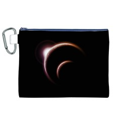 Planet Space Abstract Canvas Cosmetic Bag (xl) by Nexatart