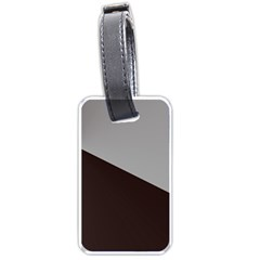 Course Gradient Color Pattern Luggage Tags (one Side)  by Nexatart