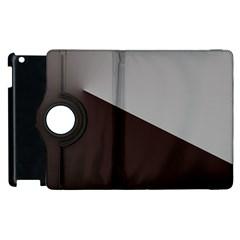 Course Gradient Color Pattern Apple Ipad 3/4 Flip 360 Case by Nexatart