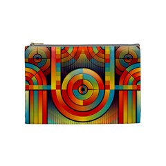 Abstract Pattern Background Cosmetic Bag (medium)  by Nexatart