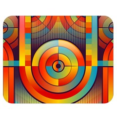 Abstract Pattern Background Double Sided Flano Blanket (medium)  by Nexatart