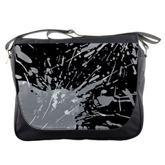 Art About Ball Abstract Colorful Messenger Bags by Nexatart