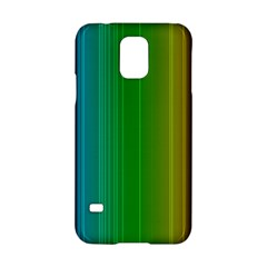 Spectrum Colours Colors Rainbow Samsung Galaxy S5 Hardshell Case  by Nexatart