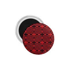 Abstract Background Red Black 1 75  Magnets by Nexatart
