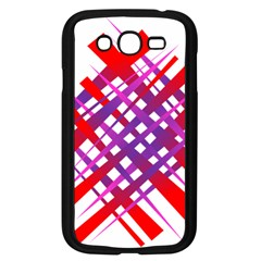 Chaos Bright Gradient Red Blue Samsung Galaxy Grand Duos I9082 Case (black) by Nexatart