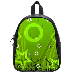 Art About Ball Abstract Colorful School Bags (small)  by Nexatart