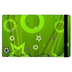 Art About Ball Abstract Colorful Apple Ipad 3/4 Flip Case by Nexatart