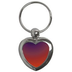 Course Colorful Pattern Abstract Key Chains (heart)  by Nexatart