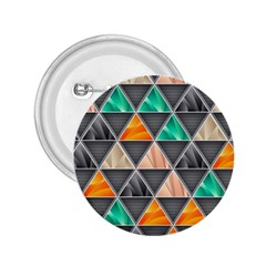 Abstract Geometric Triangle Shape 2 25  Buttons by Nexatart