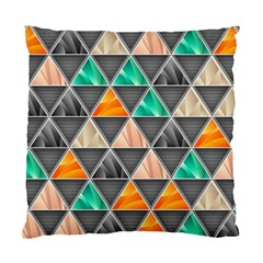 Abstract Geometric Triangle Shape Standard Cushion Case (one Side) by Nexatart