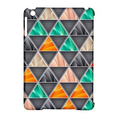 Abstract Geometric Triangle Shape Apple Ipad Mini Hardshell Case (compatible With Smart Cover) by Nexatart