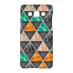 Abstract Geometric Triangle Shape Samsung Galaxy A5 Hardshell Case  by Nexatart