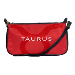 Zodizc Taurus Red Shoulder Clutch Bags by Mariart