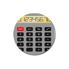Calculator Magnet 3  (round) by Mariart
