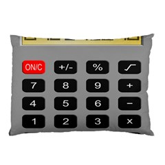 Calculator Pillow Case by Mariart