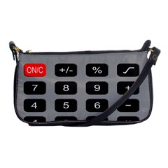 Calculator Shoulder Clutch Bags by Mariart