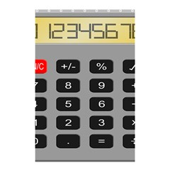 Calculator Shower Curtain 48  X 72  (small)  by Mariart