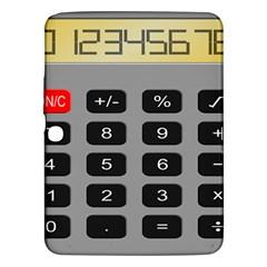 Calculator Samsung Galaxy Tab 3 (10 1 ) P5200 Hardshell Case  by Mariart