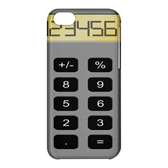 Calculator Apple Iphone 5c Hardshell Case by Mariart