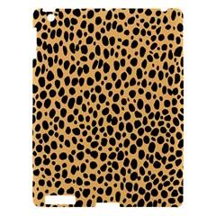 Cheetah Skin Spor Polka Dot Brown Black Dalmantion Apple Ipad 3/4 Hardshell Case by Mariart