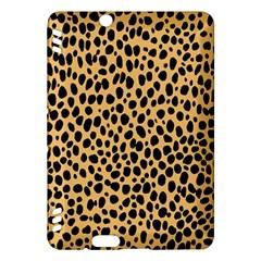 Cheetah Skin Spor Polka Dot Brown Black Dalmantion Kindle Fire Hdx Hardshell Case by Mariart