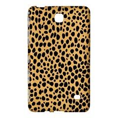 Cheetah Skin Spor Polka Dot Brown Black Dalmantion Samsung Galaxy Tab 4 (8 ) Hardshell Case  by Mariart