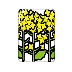 Flower Floral Sakura Yellow Green Leaf Ipad Mini 2 Hardshell Cases by Mariart