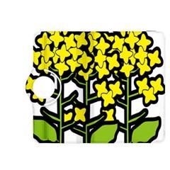 Flower Floral Sakura Yellow Green Leaf Kindle Fire Hdx 8 9  Flip 360 Case