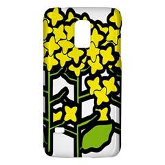 Flower Floral Sakura Yellow Green Leaf Galaxy S5 Mini by Mariart
