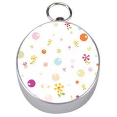 Flower Floral Star Balloon Bubble Silver Compasses by Mariart