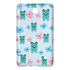 Frog Green Pink Flower Samsung Galaxy Tab 4 (8 ) Hardshell Case  by Mariart