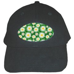 Flower Sunflower Yellow Green Leaf White Black Cap by Mariart