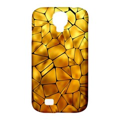 Gold Samsung Galaxy S4 Classic Hardshell Case (pc+silicone) by Mariart