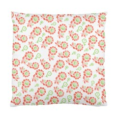 Flower Floral Red Star Sunflower Standard Cushion Case (one Side) by Mariart