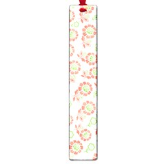 Flower Floral Red Star Sunflower Large Book Marks by Mariart
