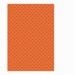 Heart Orange Love Small Garden Flag (two Sides) by Mariart